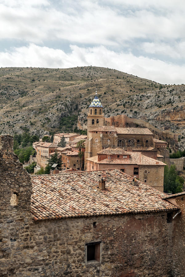 Download Tower bell of Albarracin stock photo. Image of arches - 33680798