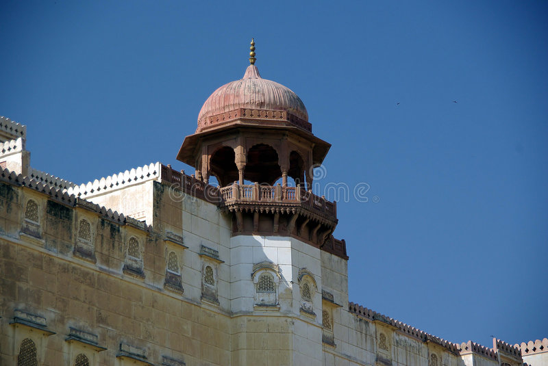 Download Tower in the Bikane fort stock image. Image of mirador - 6614533