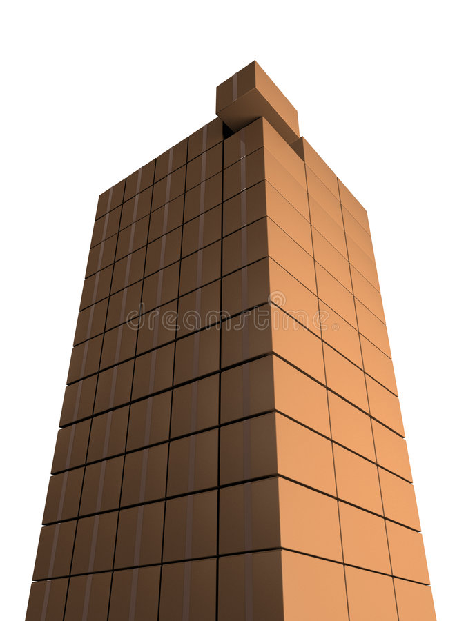 Download Tower From Boxes Stock Photo - Image: 3854340