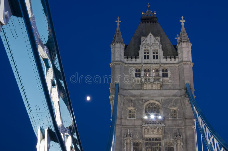 Download Tower Bridge stock image. Image of copy, night, architecture - 14855787