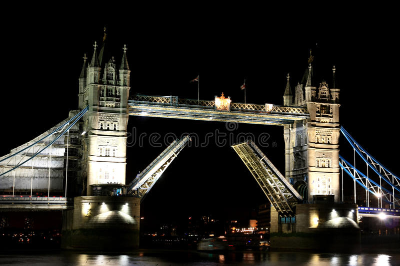 Download Tower Bridge stock image. Image of united, tower, night - 15538655