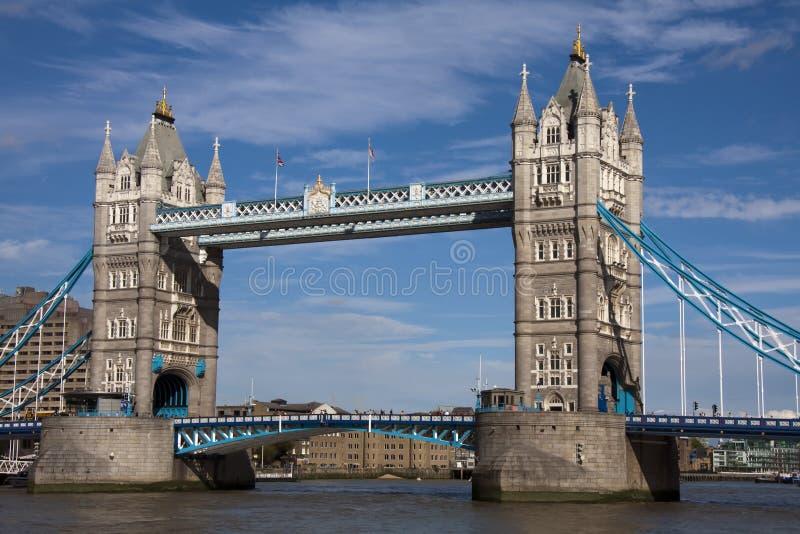 The Tower Bridge stock photo