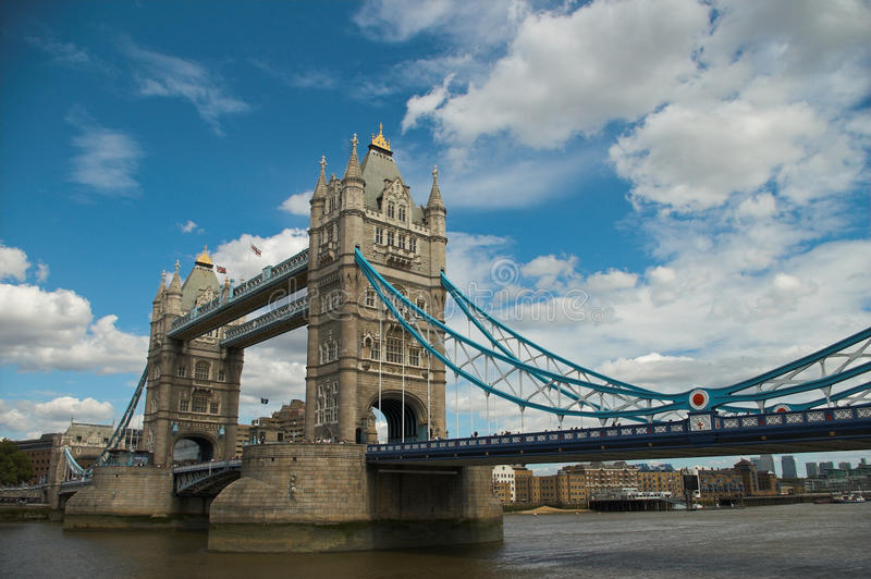 Download Tower Bridge London stock photo. Image of clouds, england - 10886786