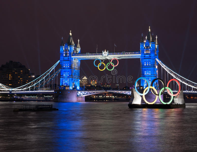 Download Tower Bridge: London 2012 Summer Olympics Editorial Photo - Image of opening, bridge: 26008186