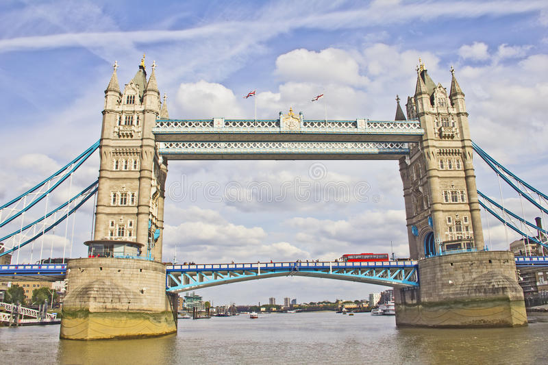 The Tower Bridge, London Royalty Free Stock Image
