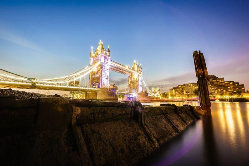 Tower Bridge in London, England stock photography