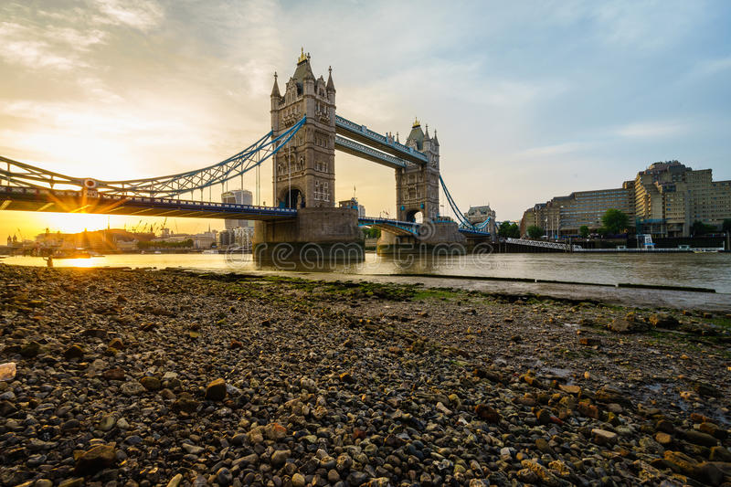 Tower Bridge in London, England stock image
