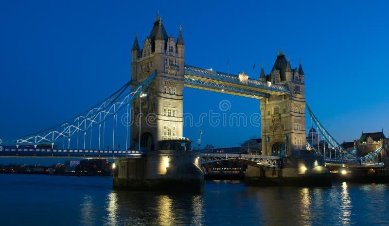 Download Tower Bridge In London At Night Stock Photo - Image: 13527036