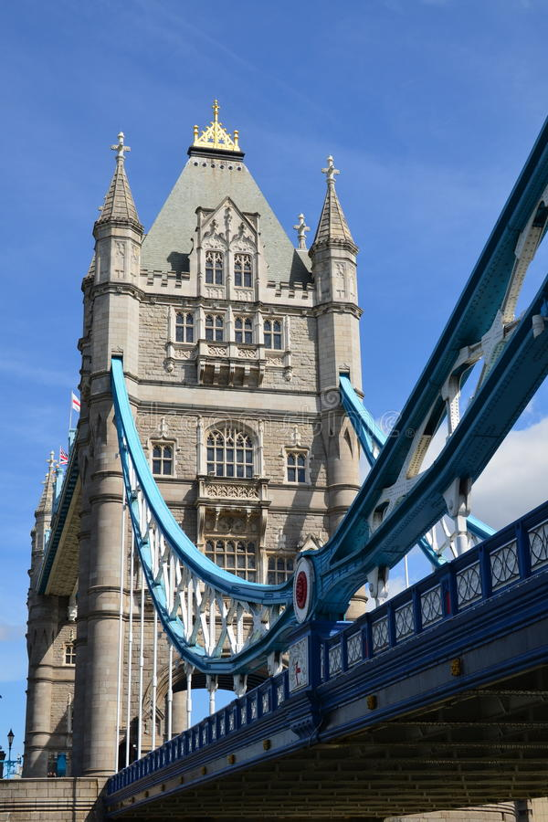 Tower Bridge. royalty free stock photo