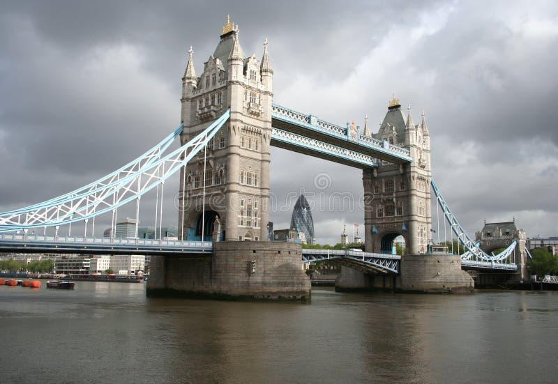 Tower Bridge And London Skyline Stock Image