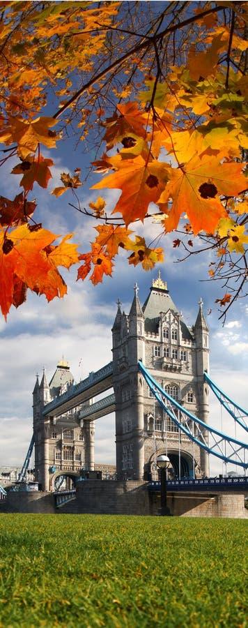 Tower Bridge In London, UK Royalty Free Stock Photos