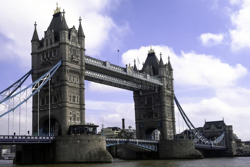 Tower Bridge, London. United Kingdom royalty free stock photography