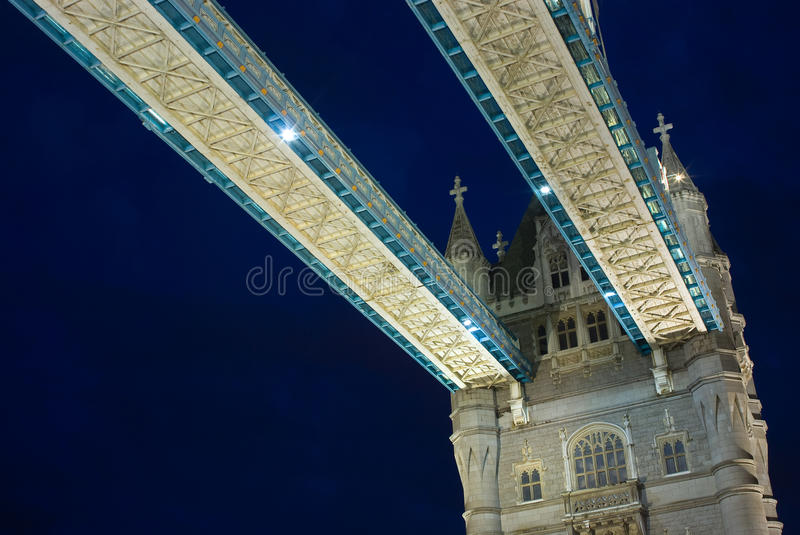 Download Tower bridge at night stock photo. Image of tower, london - 16044054