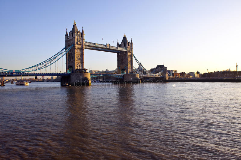 Download Tower Bridge And The River Thames At Sunset Stock Photo - Image: 22853158