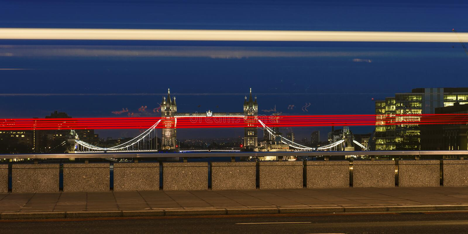 Tower bridge special stock photography