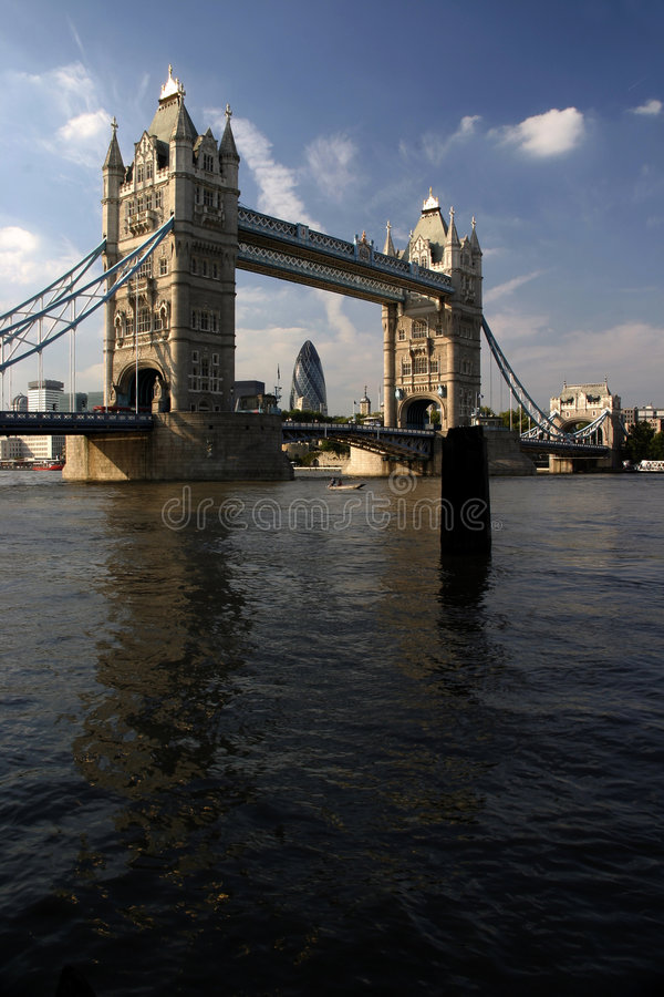 Download Tower Bridge And The Thames Stock Image - Image: 1062401