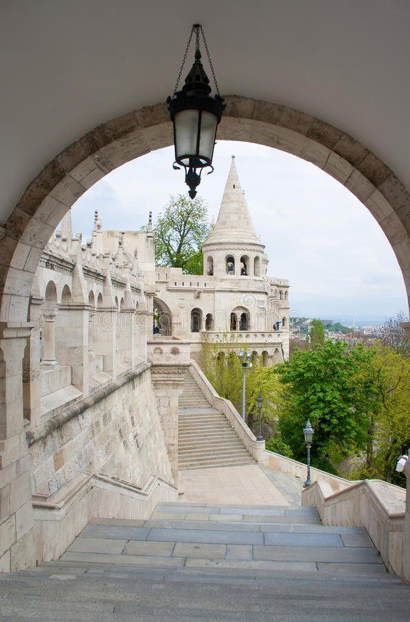 Tower in Budapest royalty free stock photo