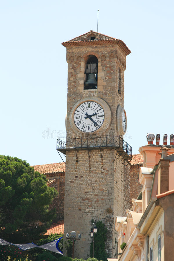 Download Tower in Cannes stock image. Image of cannes, tower, bell - 18099909