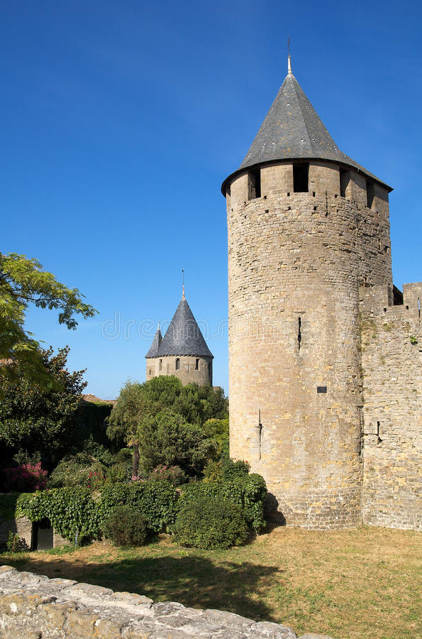 Tower of the castle royalty free stock image