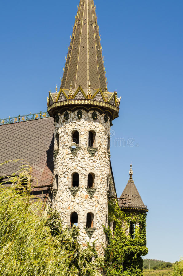 Download Tower Of A Castle Royalty Free Stock Image - Image: 33360696
