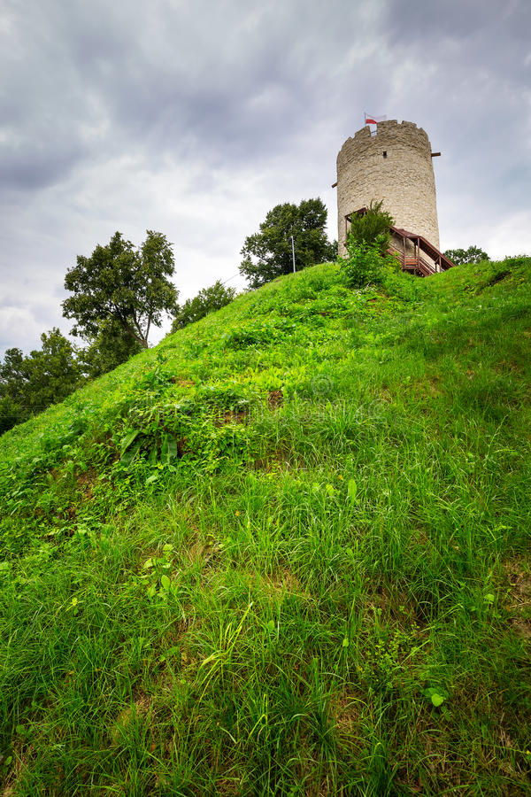 Download Tower Of The Castle In Kazimierz Dolny Stock Image - Image: 33270385