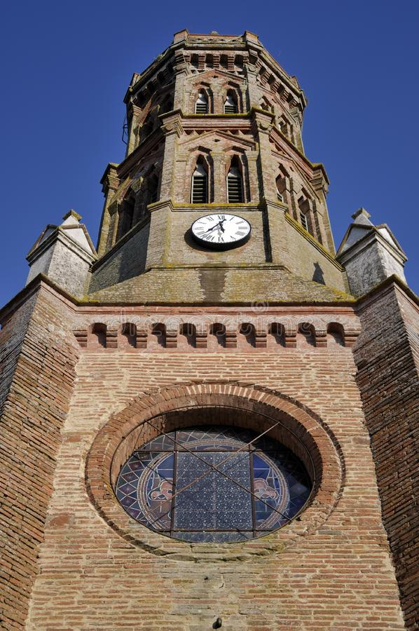 Download Tower church stock image. Image of outdoors, blue, bricks - 8601993