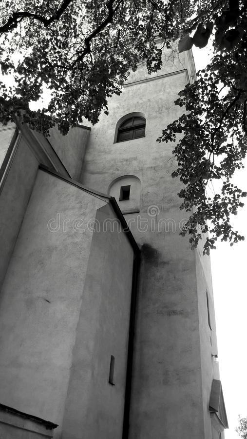 Tower of the Church stock photography