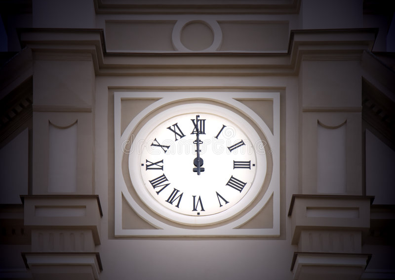 Download Tower clock stock photo. Image of measuring, clock, hours - 6928998
