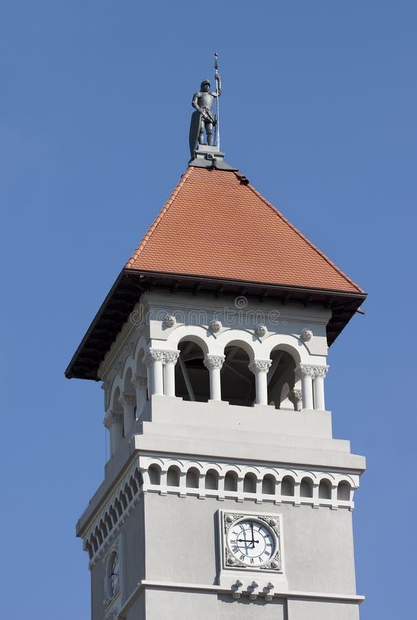 Tower clock - RAW format stock photo