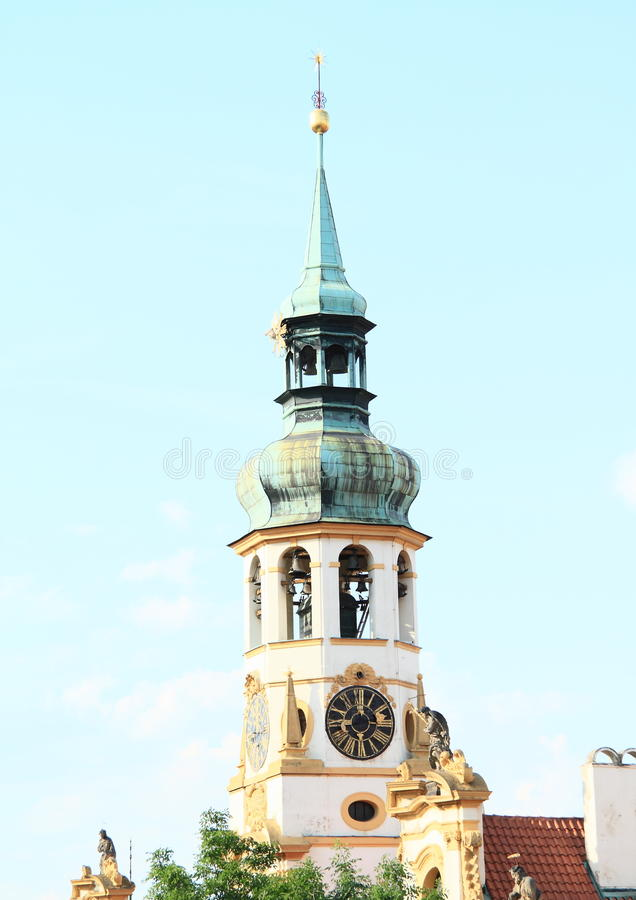 Download Tower With Clocks Of Loreta Stock Photo - Image: 31991168