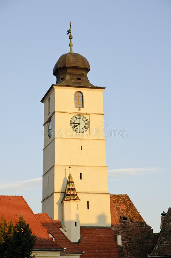 Tower of council in Sibiu