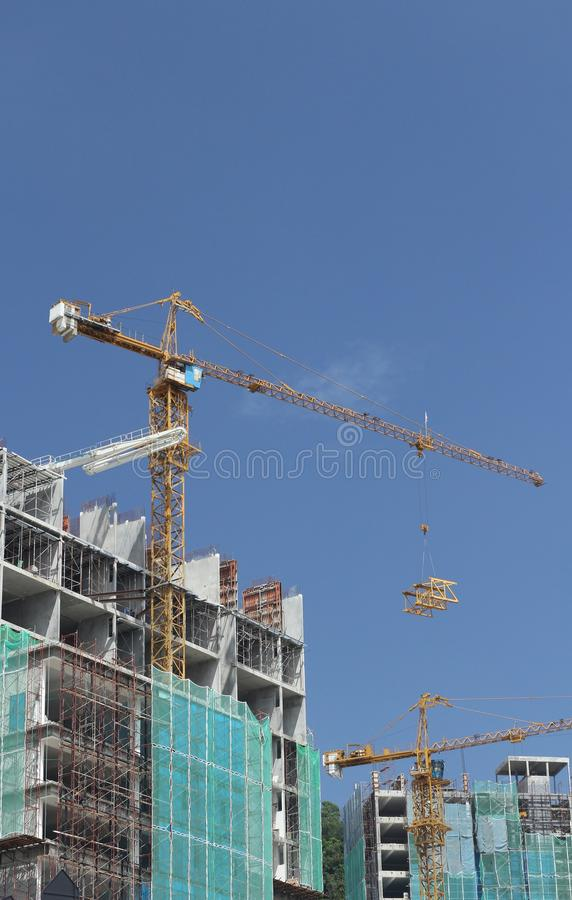Download Tower crane stock image. Image of commerce, lifting, daylight - 23665205
