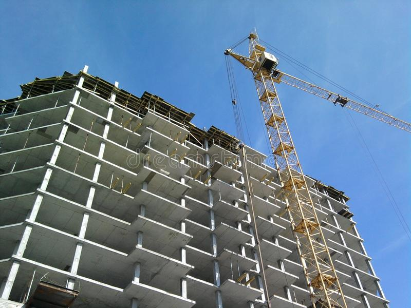 Download Tower crane stock image. Image of construction, business - 24476157