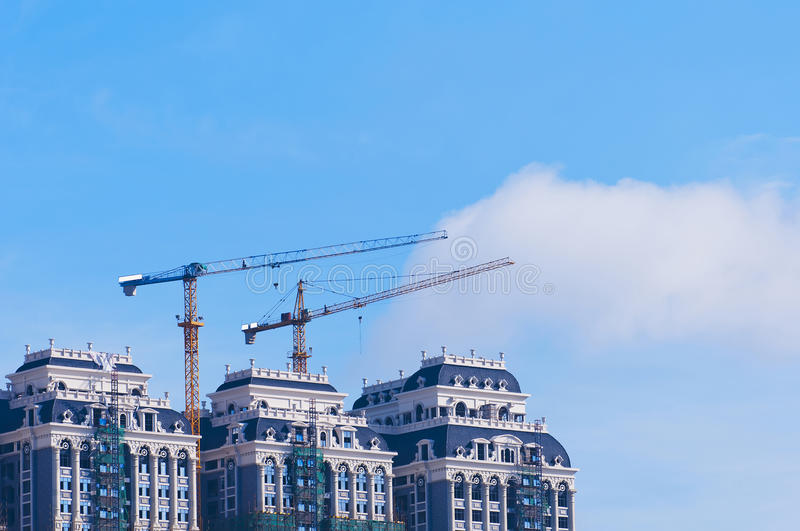 Download Tower Crane stock image. Image of construction, steel - 25572289