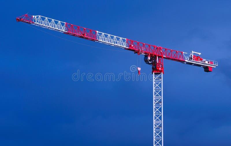 Tower Crane stock photo