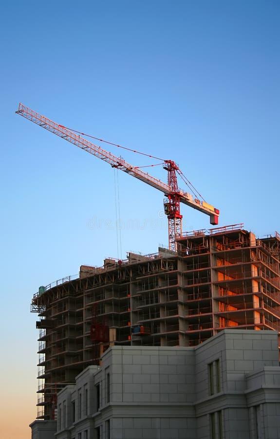 Tower Crane during Daytime royalty free stock photo