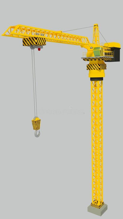 Tower crane royalty free stock image