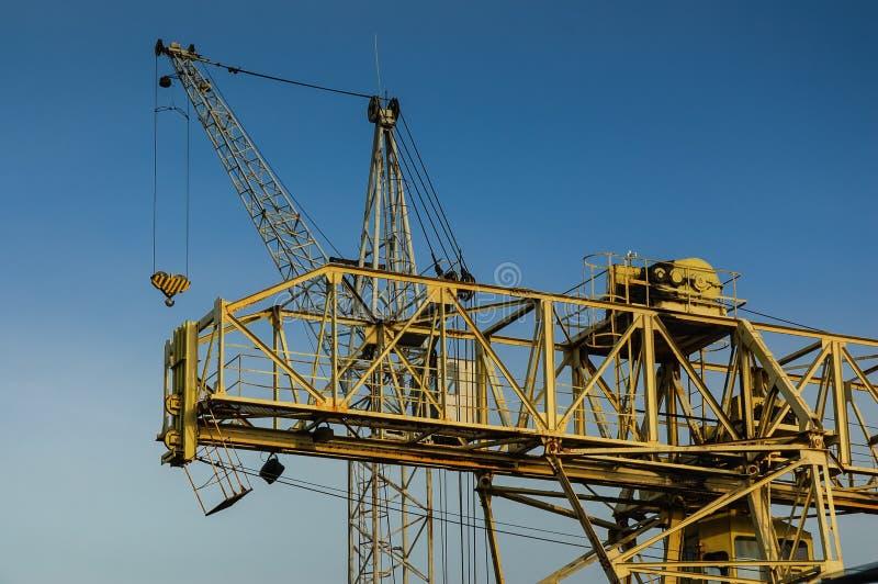 Download Tower crane stock image. Image of equipment, hoisting - 33990797