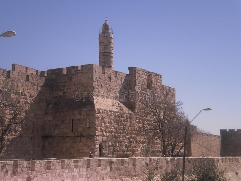 The Tower of David royalty free stock photo