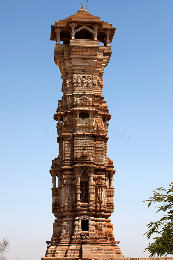 Download Tower Of Fame Inside The Chittorgarh Fort Stock Photo - Image: 12793950