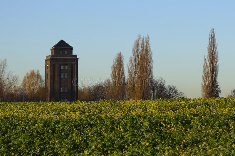 Tower in the field