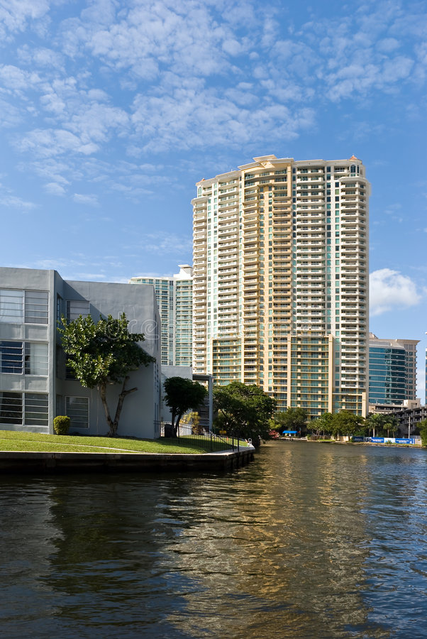 Tower in fort lauderdale,florida stock images