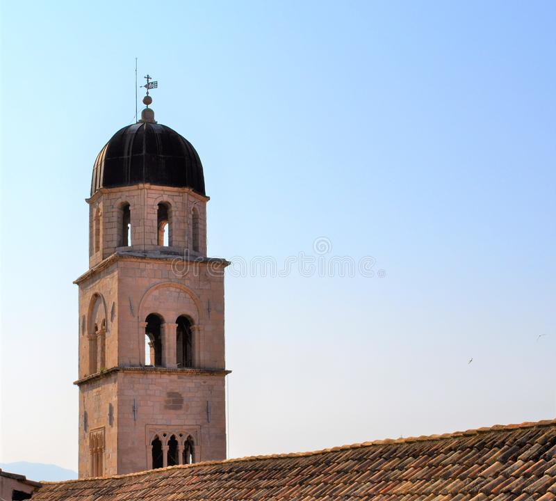 The tower - Franciscan Church and Monastery royalty free stock photos
