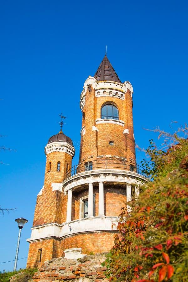 Tower on Gardos hill in Zemun, Belgrade royalty free stock photos