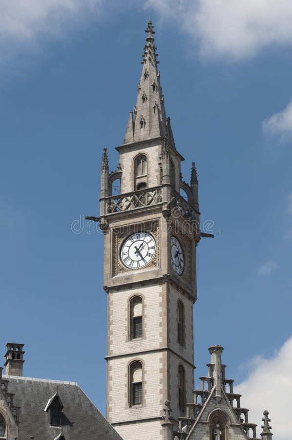 Download Tower in Gent stock image. Image of sighseeing, belgium - 26900565