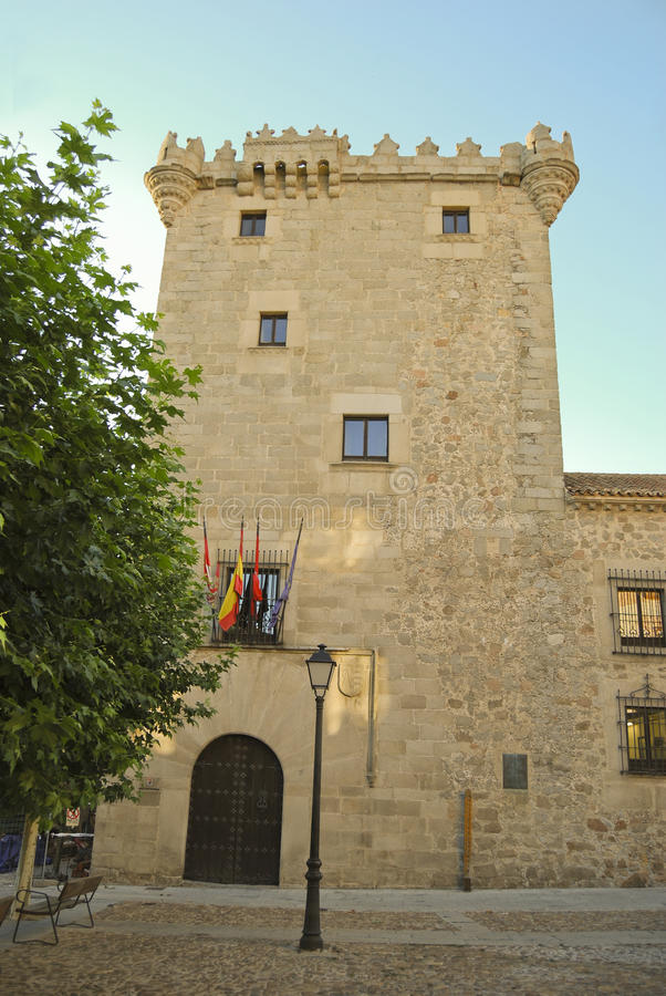 Download Tower Of The Guzmanes In Avila Stock Photo - Image: 11456500