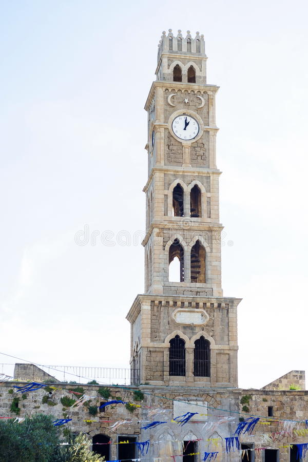 Tower of Han El-Umdan stock photography