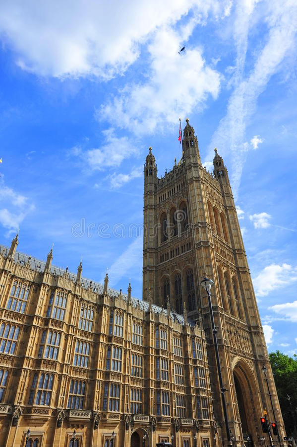Download Tower Of The House Of Parliament, London Stock Image - Image: 26470311