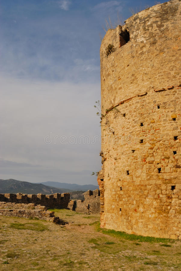 Download Tower at Jimena castle stock photo. Image of walls, andalusia - 22103864