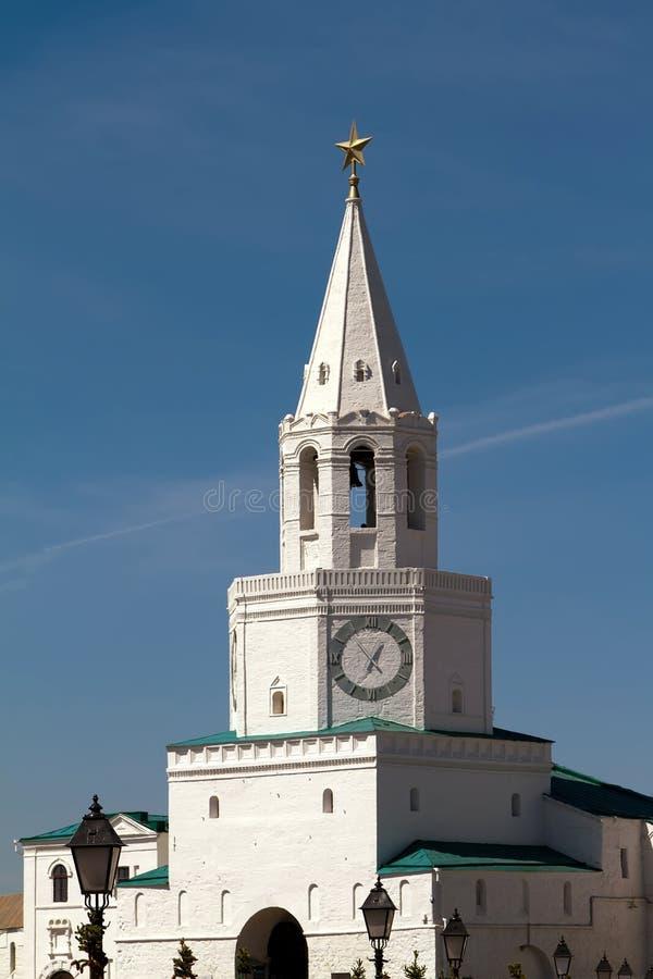 Tower of the Kazan Kremlin royalty free stock photography